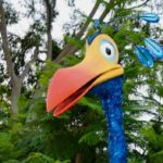 Kevin from Up! Lands on Animal Kingdom's Discovery Island
