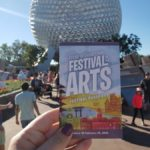 We're LIVE at the 2019 Epcot International Festival of the Arts!!