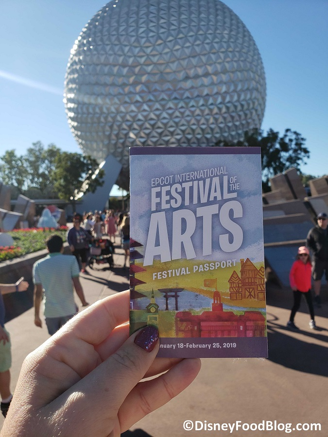 News Epcot S Festival Of The Arts Booths Have Been Spotted In Disney World The Disney Food Blog