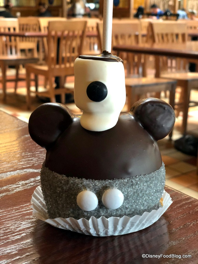 Quot Get Your Ears On Quot Eats Steamboat Willie Caramel Apple In