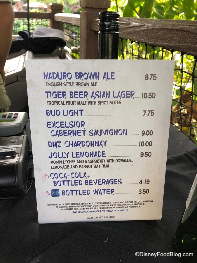 Landing Animal The Can In Bar You At Disney Grab Drink Kingdom A Disney's Upcountry while New Food Blog
