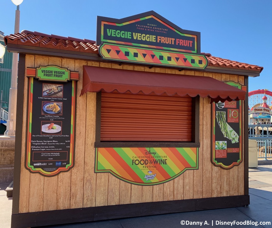 2019 Disney California Adventure Food and Wine Festival Booths