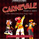 Celebrate Carnevale at Maria & Enzo's Ristorante in Walt Disney World's Disney Springs!