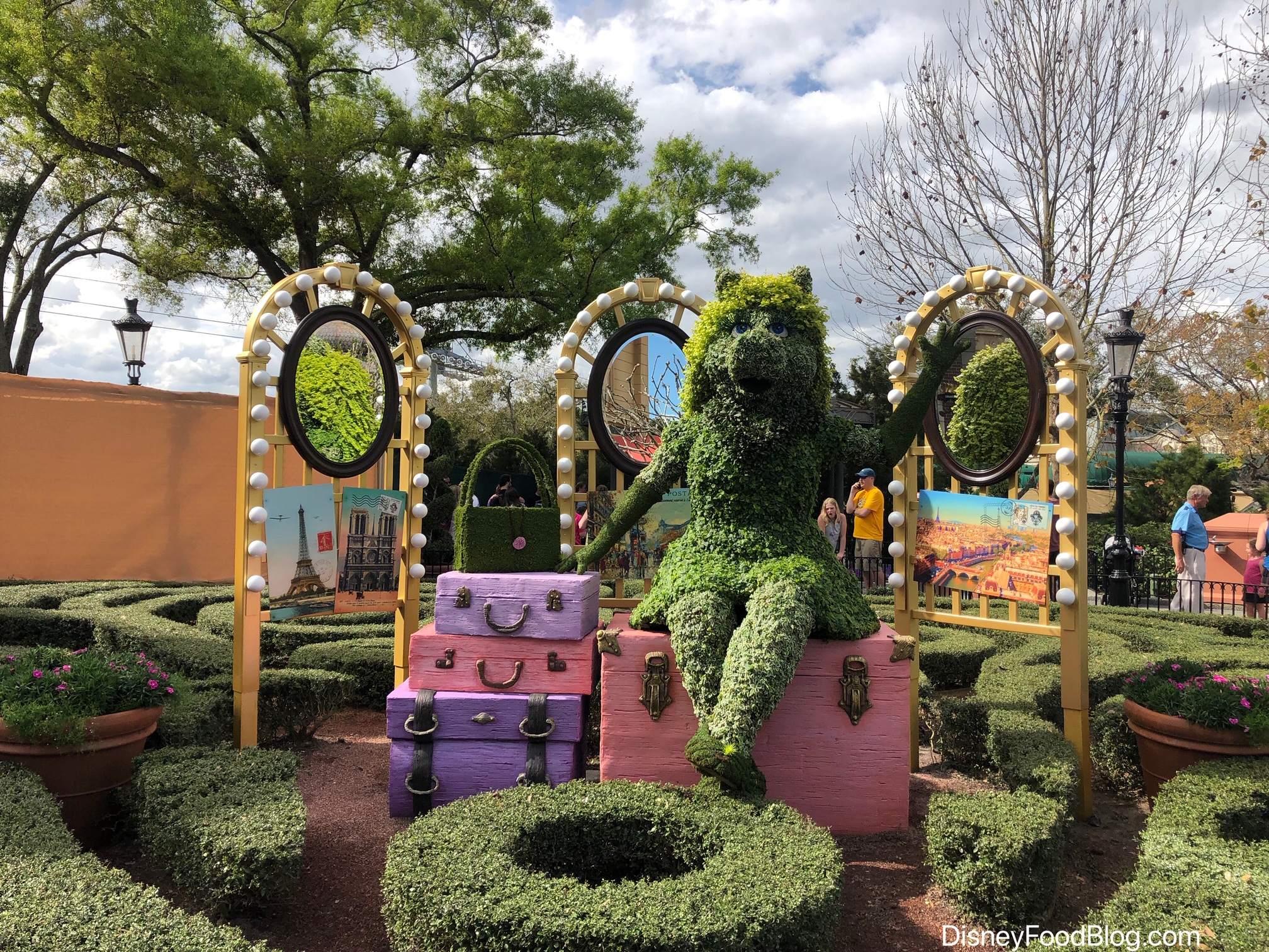 kermit is here! check out the most adorable addition to the epcot
