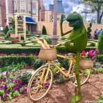 KERMIT IS HERE! Check Out The Most Adorable Addition To The Epcot Flower and Garden Festival This Year!