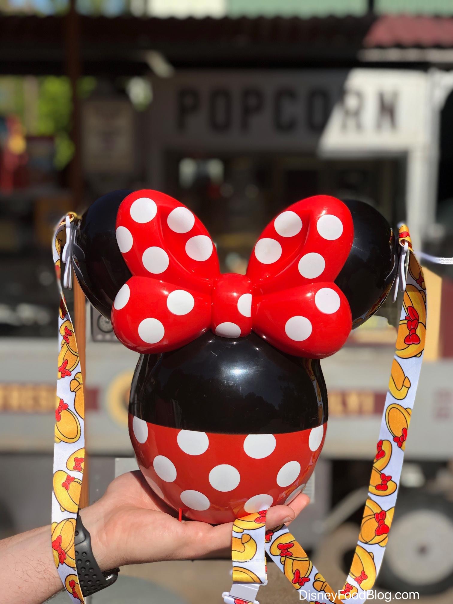 Disneyland Halloween Popcorn Bucket 2019.The New Minnie Balloon Popcorn Bucket Has Landed In Disneyland