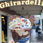 Review: Mickey's Magical Sundae at Disneyland's Ghirardelli Soda Fountain and Chocolate Shop!