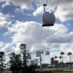 Check It Out!! Disney's Skyliner System Testing Gondolas at Full Speed!