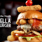 February Burger of the Month at The Edison in Disney Springs: The Mozzarella Madness Burger!