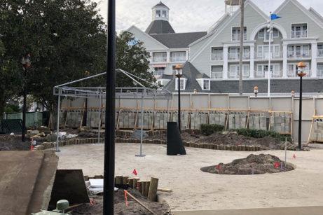 Cabana Construction Updates At Disney World's Stormalong Bay Pool