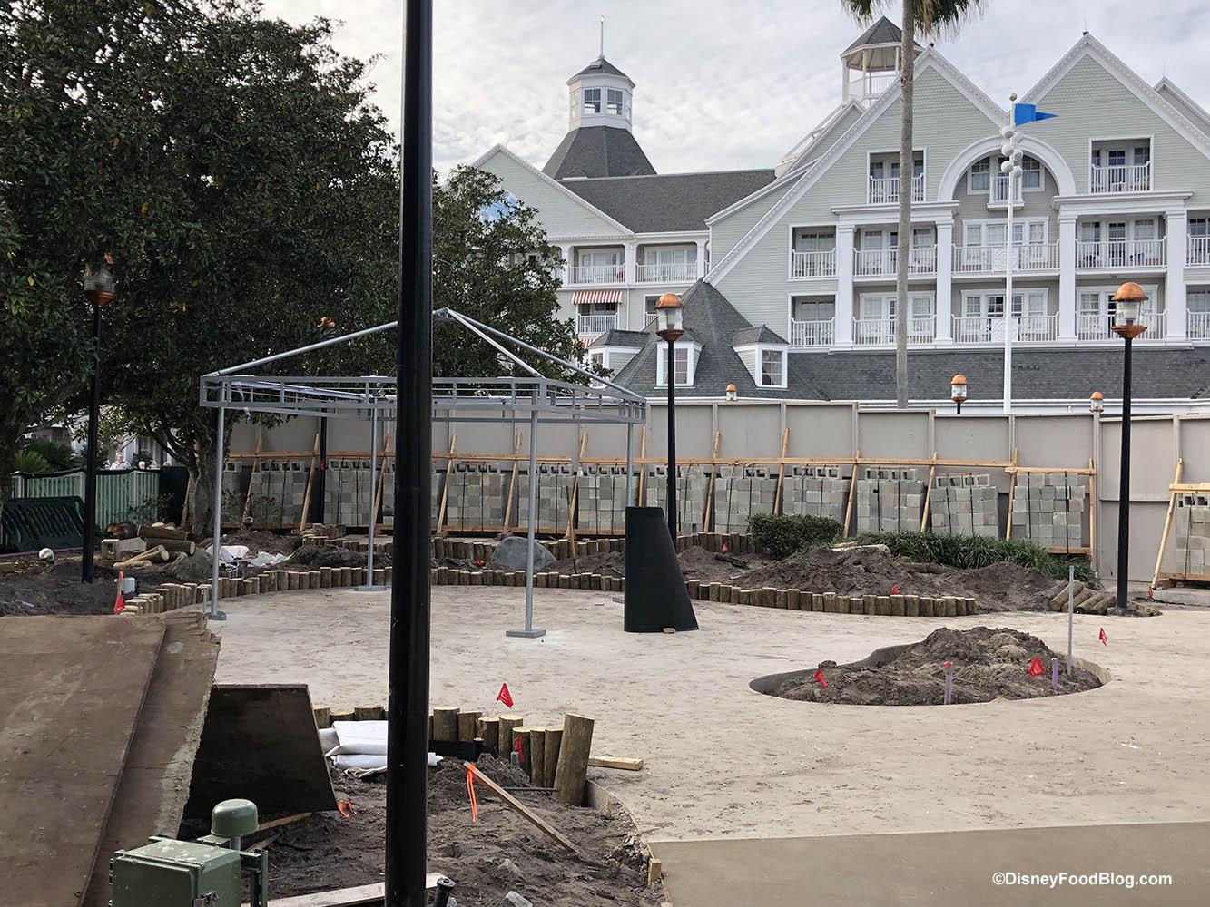 Cabana Construction Updates At Disney World S Stormalong