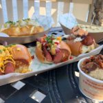 Review and Food Photos: Brand New Menu at B.B. Wolf's Sausage Company in Disney Springs!