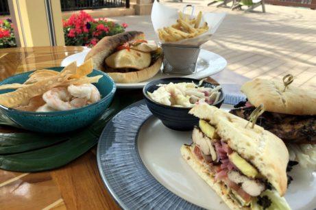 Review! NEW Food Menu at Banana Cabana in Disney World's Caribbean Beach Resort