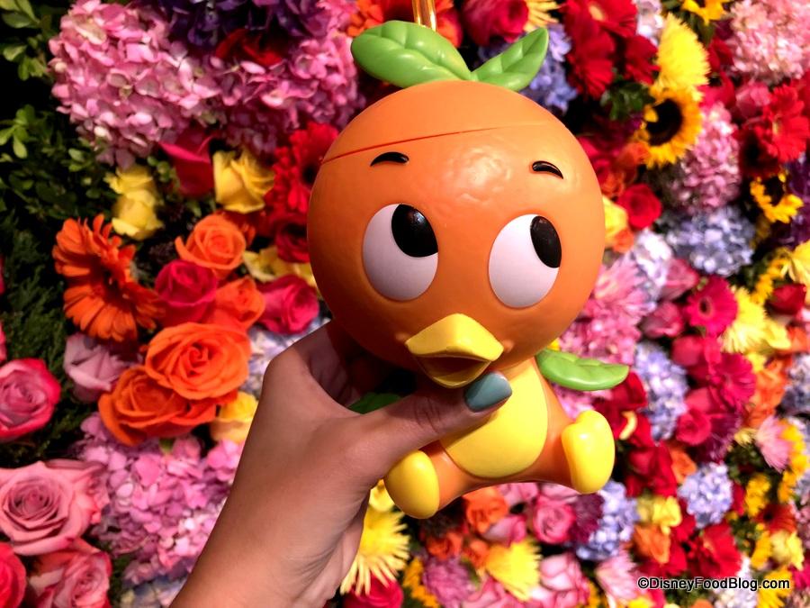 Disney Park Epcot Flower /& Garden Festival 2020 Orange Bird Souvenir Sipper Cup