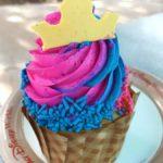 Make It Pink! Make It Blue! It's the Princess Aurora Cupcake at All Star Music Resort