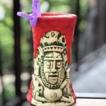 Newest Edition of Krakatoa Souvenir Glass Now Available at Trader Sam's Grog Grotto