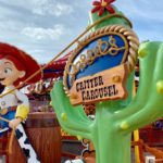 FIRST LOOK!! Jessie's Critter Carousel Has Been UNVEILED in Disney California Adventure!