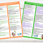 DFB Exclusive Epcot Flower and Garden Festival Printable Checklist! — PRINT YOURS FREE TODAY!