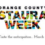 Orange County Restaurant Week Returns Featuring Select Disneyland Resort Restaurants