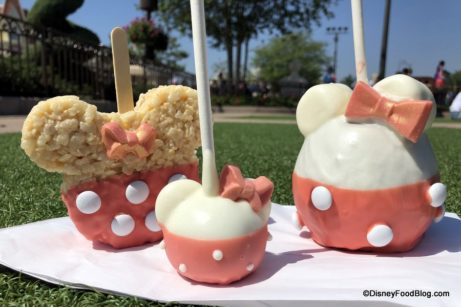 Briar Rose Gold Treats Arrive at Magic Kingdom's Main Street Confectionery — Caramel Apples, Cake Pops, and More!