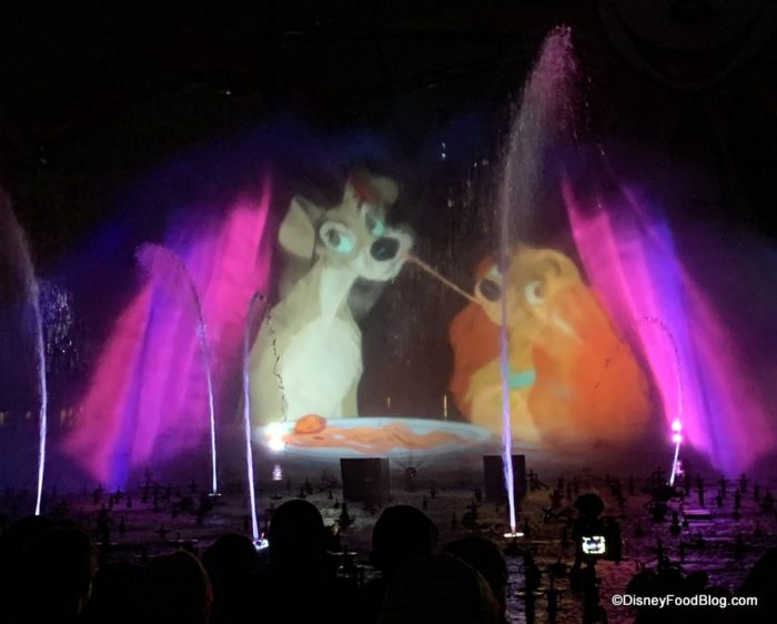 Disney California Adventure World Of Color Christmas 2020 Review: World of Color Dining Package at Wine Country Trattoria in