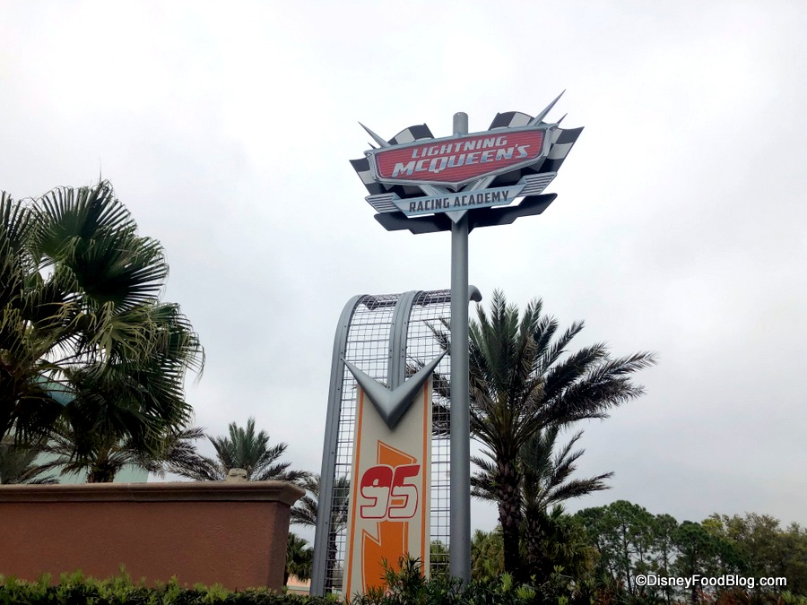 33c0ae8cdf52 Signs for Lightning McQueen s Racing Academy Revealed in Disney s Hollywood  Studios