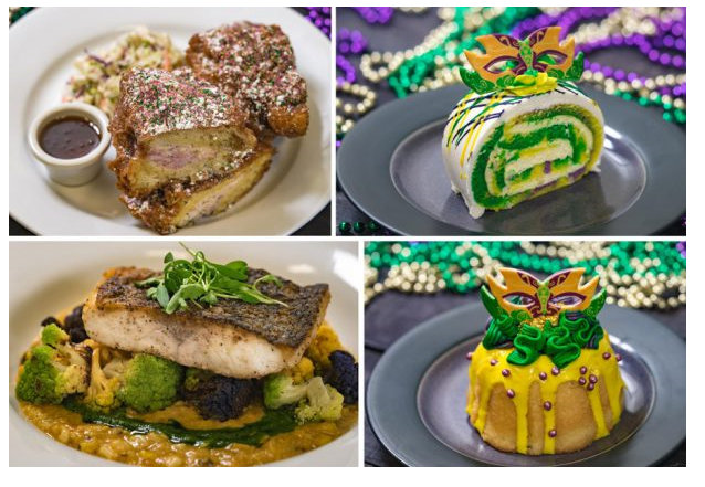 Mardi Gras Dishes In Disneyland Let The Good Times Roll