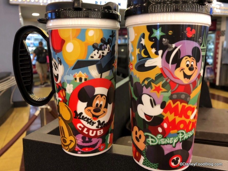 1e25091b48d NEW Mickey Mouse Refillable Resort Mug Found at Disney World's All ...