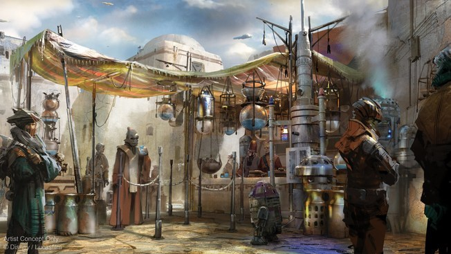Here's when Star Wars-themed lands at Disneyland, Disney World will open