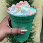 LIMITED TIME TREAT at Disneyland's Red Rose Taverne: The Enchant-Mint Milkshake!