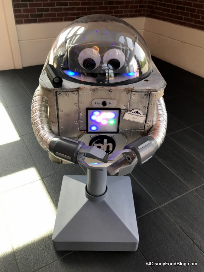 Meet Plex The Robot At Planet Hollywood Observatory In Disney Springs