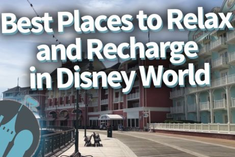 DFB Video: SECRET Spots To Relax and Recharge in Disney World!