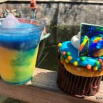 NEW Colorful Kevin Cupcake and Himalayan Explorer Cocktail in Animal Kingdom's Asia