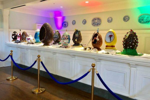 Photo Tour! The 2019 Chocolate Easter Eggs at Disney World's BoardWalk Inn