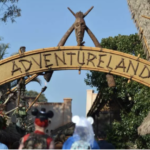 Historic Disneyland Sign Posted in Adventureland As Marquee Undergoes Restoration