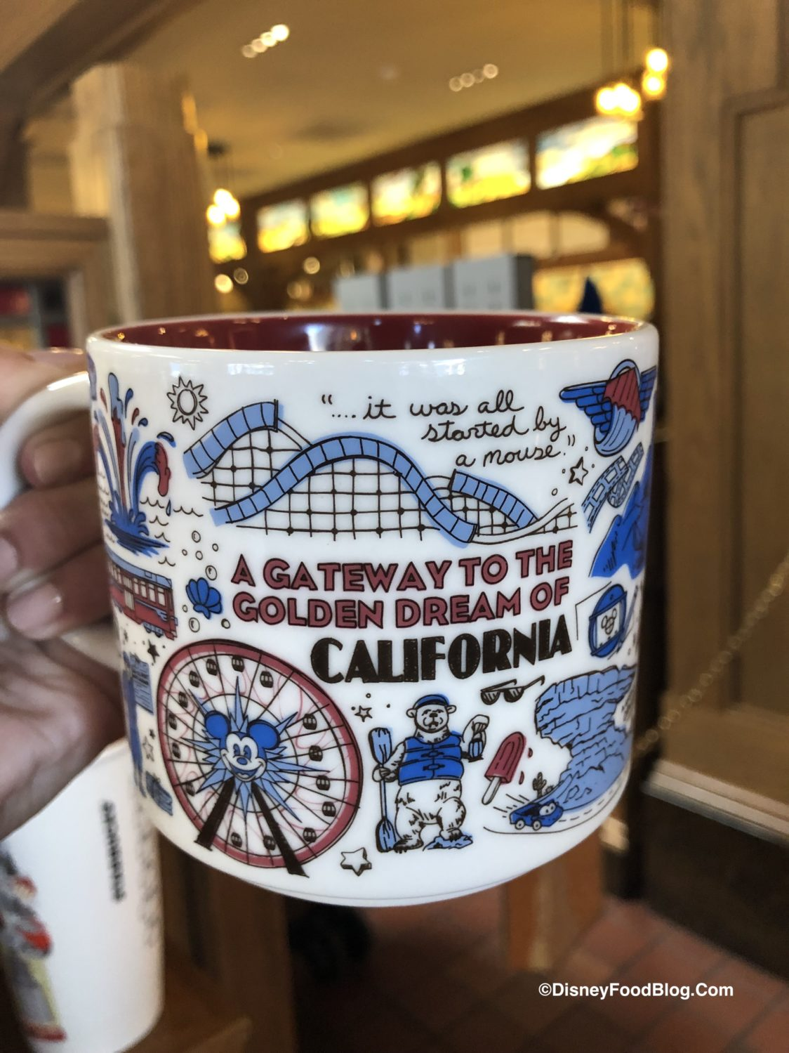 Check Out The New Disney California Adventure Starbucks Been There Series Mug The Disney Food Blog