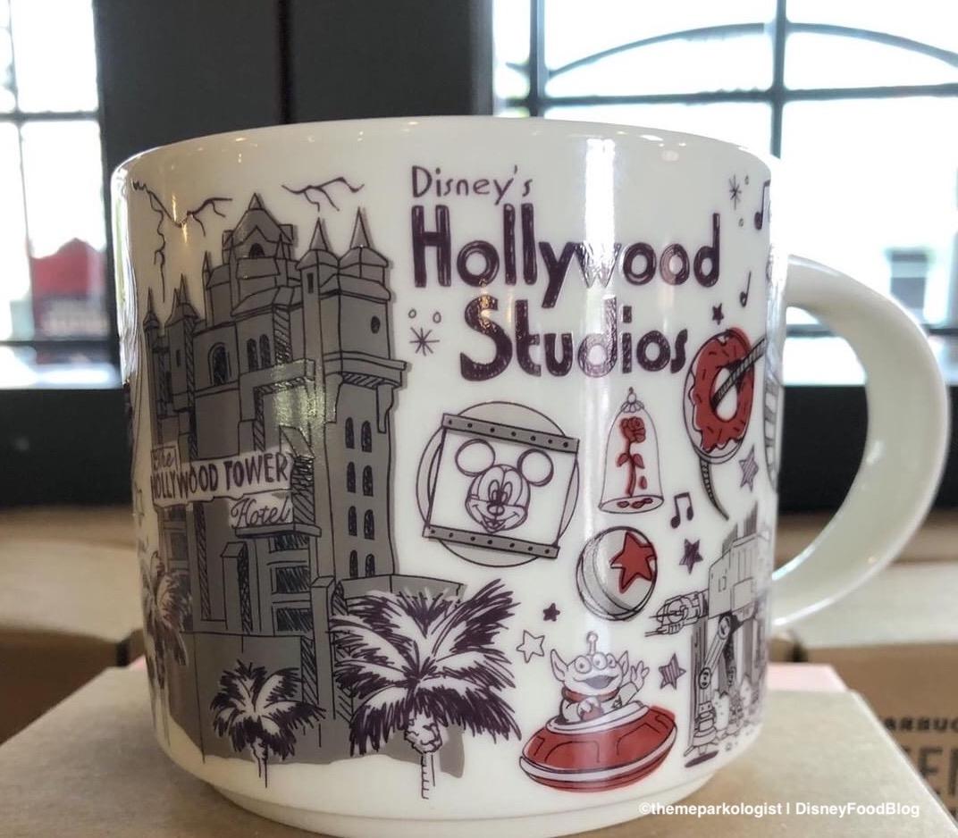 New Hollywood Studios Starbucks Been There Series Mug Debuts
