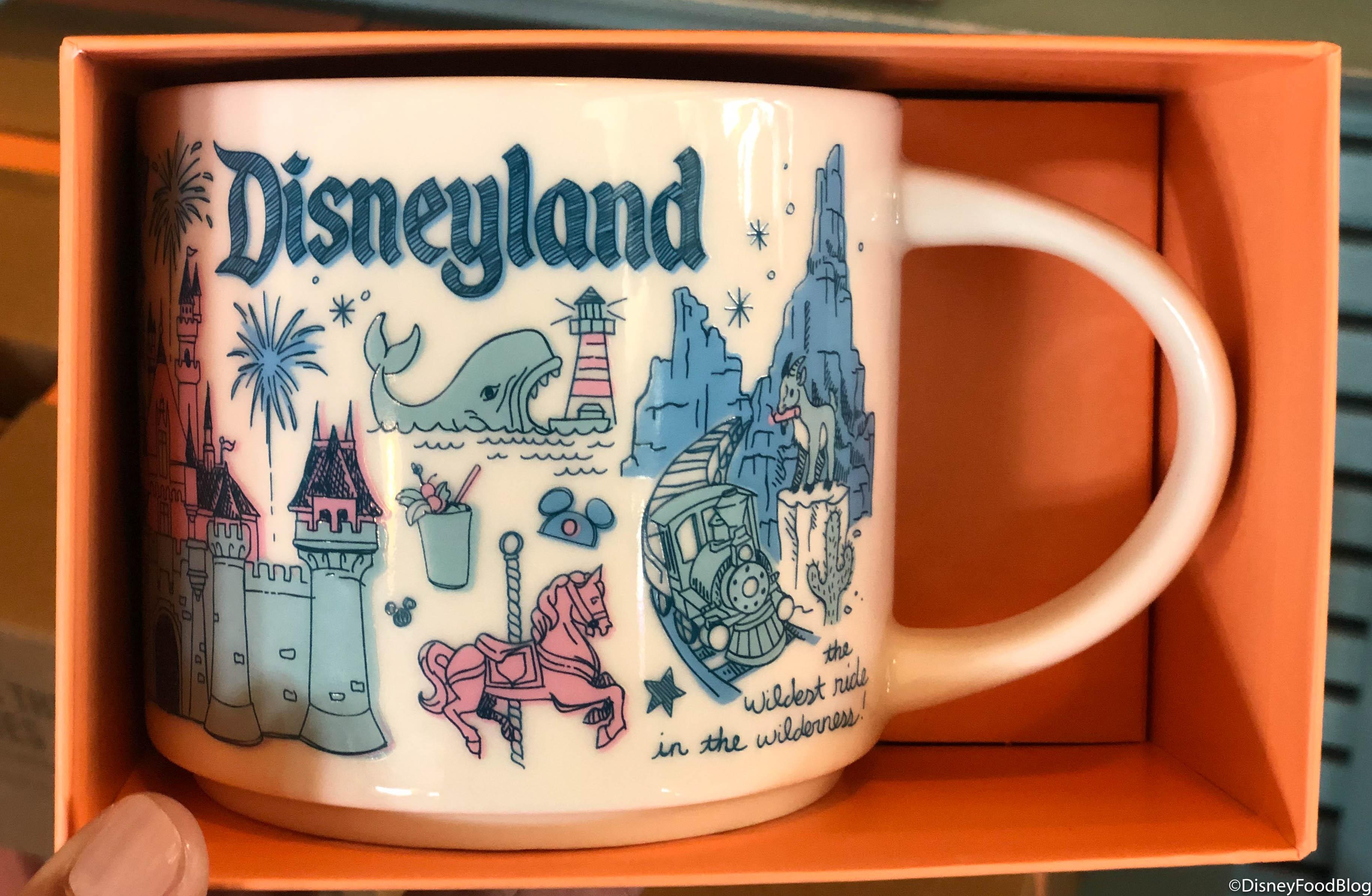 Disneyland Resort Starbucks Mug Been There Series New Release Exclusive