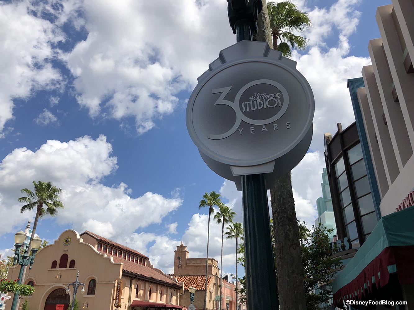 Resultado de imagen para disney hollywood studios 30 years