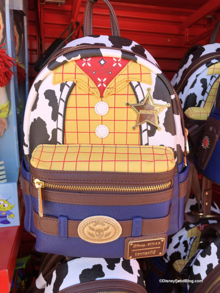 b88a88ead16 New Buzz and Woody Loungefly Backpacks AND Alien Ear Hats Spotted in ...