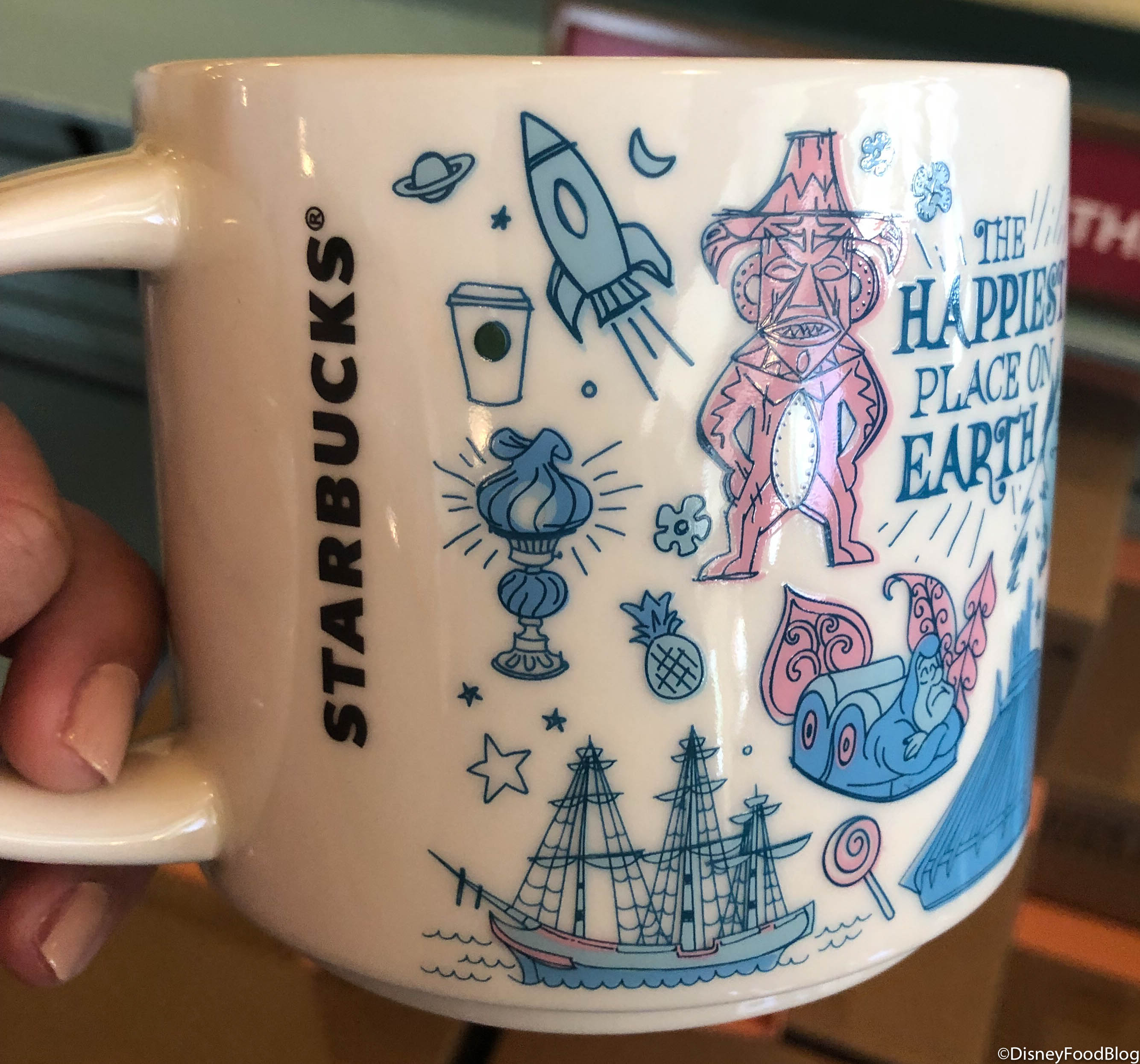 New The Disneyland Starbucks Been There Series Mug Is The
