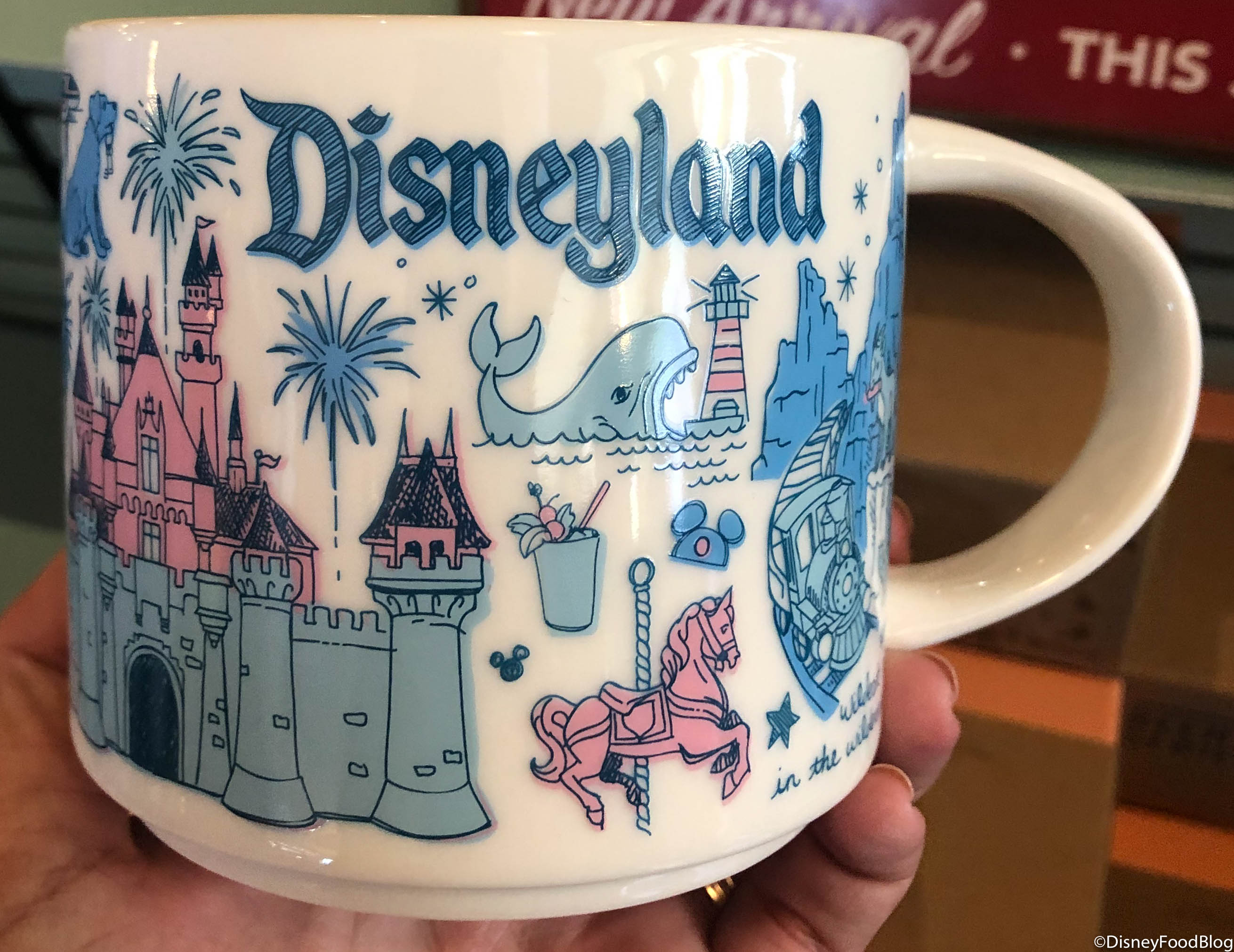 New The Disneyland Starbucks Been There Series Mug Is The Best The Disney Food Blog