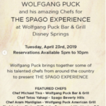 One Night Only! Tickets Available for The Spago Experience At Wolfgang Puck Bar & Grill