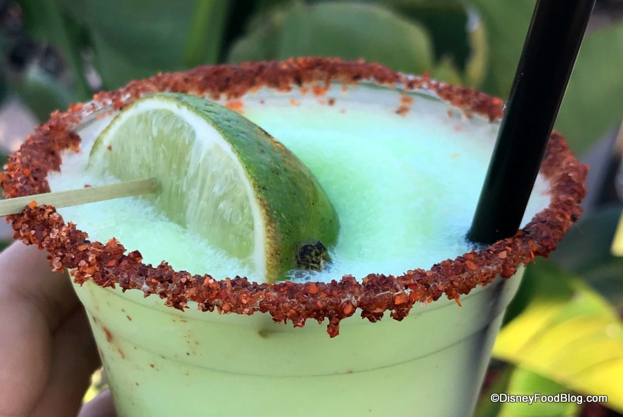 Pics And Review! DOLE WHIP LIME MARGARITA At Disney's