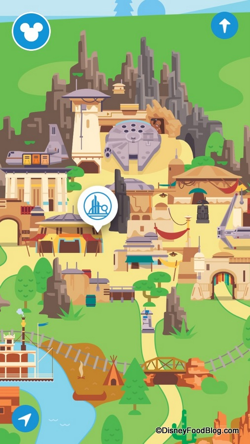 FIRST LOOK: Star Wars: Galaxy's Edge Datapad Preview and ... on disney world map app, disneyland street map, six flags map app,