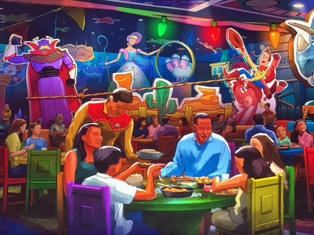 A NEW RESTAURANT Is Coming to TOY STORY LAND in Disney's Hollywood