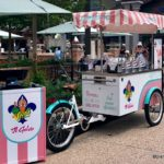 New Vivoli il Gelato Bicycle Cart Spotted in Disney Springs Marketplace!