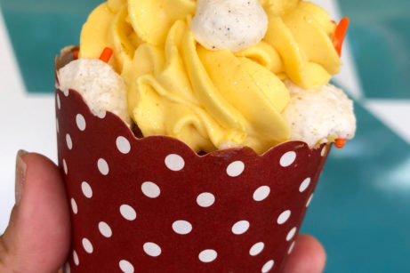 Photos and Review! New Peaches and Cream Cupcake At Disney's All-Star Movies Resort