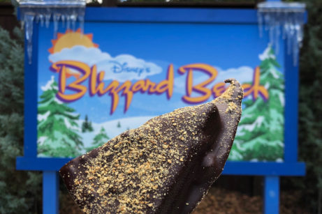 Review And Photos: Chocolate-Dipped Key Lime Pie at Blizzard Beach Water Park