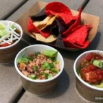 Review and Food Photos: Paddle In for the Guacamole Flight at Disney's Typhoon Lagoon Water Park!